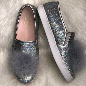 Kate Spade New York Latisa Pom Pom Sequin Shoe